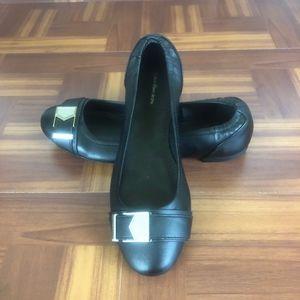 NWOT CALVIN KLEIN JEANS CIRUS Black Ballet Flats